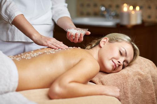 Body peeling & Silk Skin