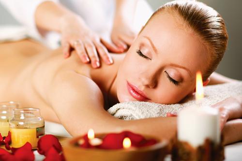 Aromatherapy back massage 50min.